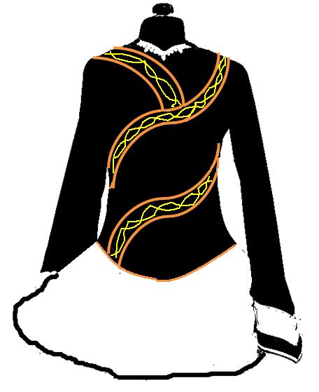 Irish Dance Dress Drawings Many Dresses Also Used The