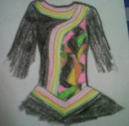Irish Dance Dress Drawings my Terrible Drawing Here
