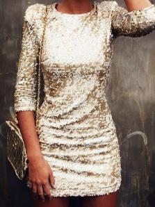 gold-sequin-dress-chanel-bag